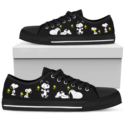 Snoopy Friendship - Low Tops