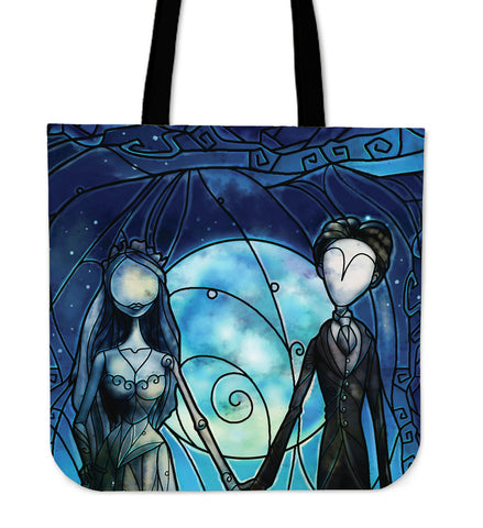 Bride Stained Glass Tote Bag