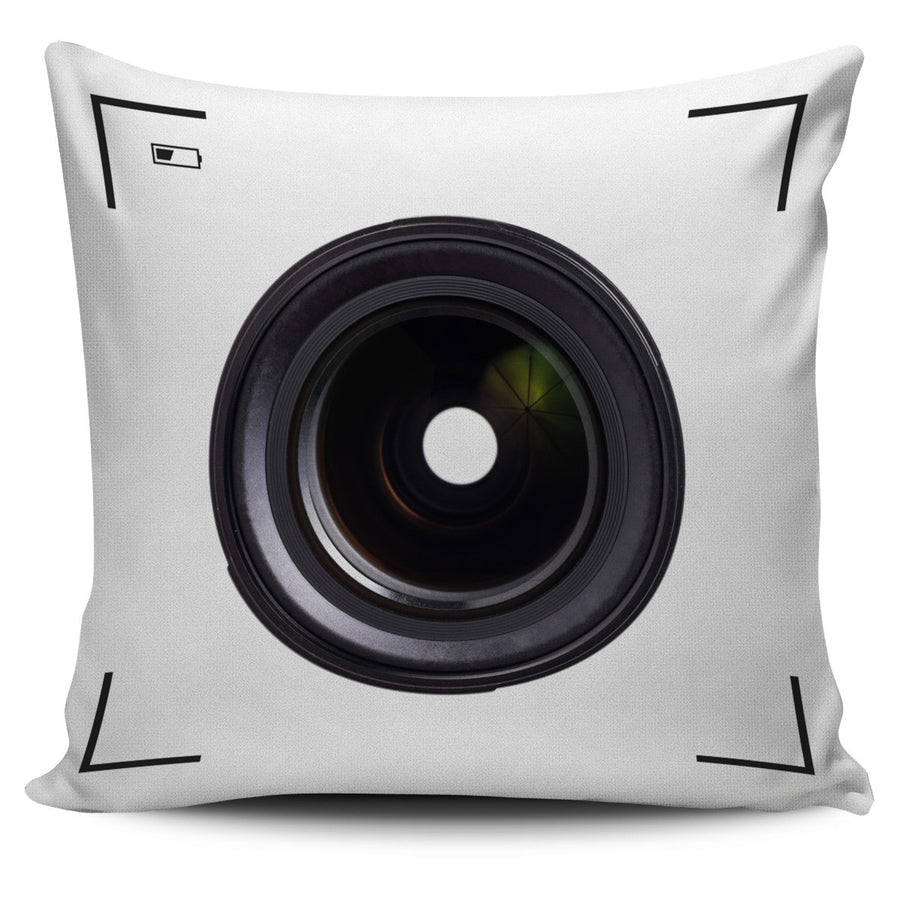 Camera Pillow Covers