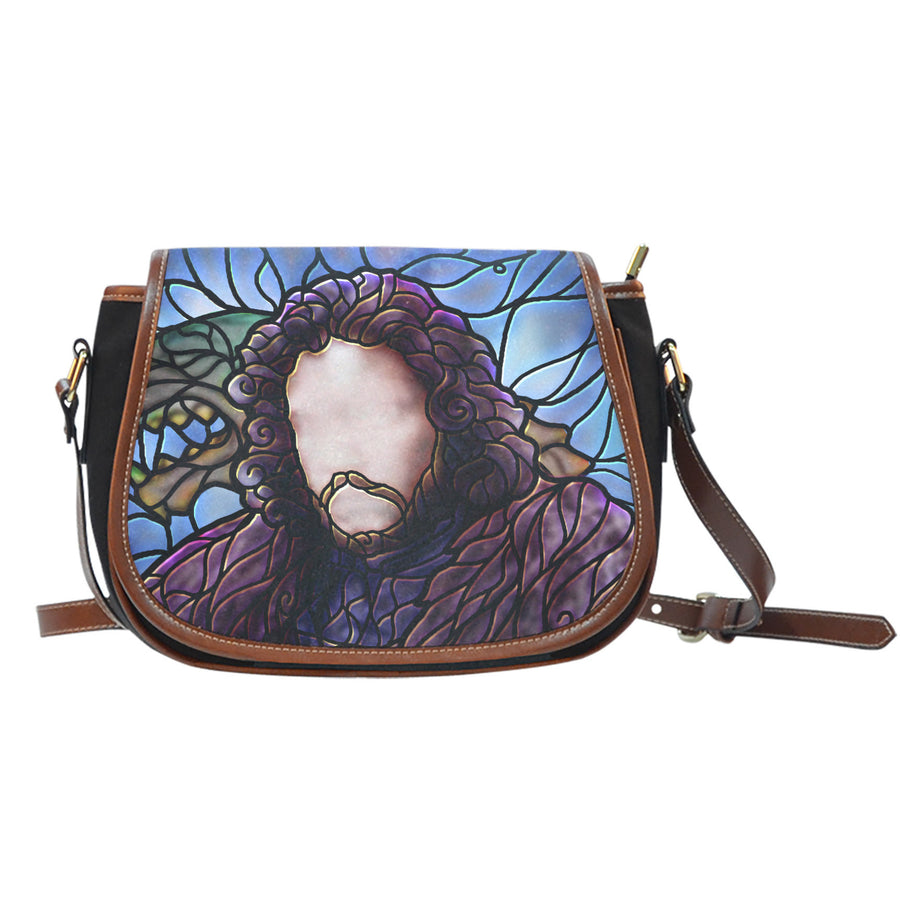 Jon Snow Stained Glass Saddle Bag