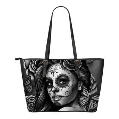 Calavera Tote Bag Grey