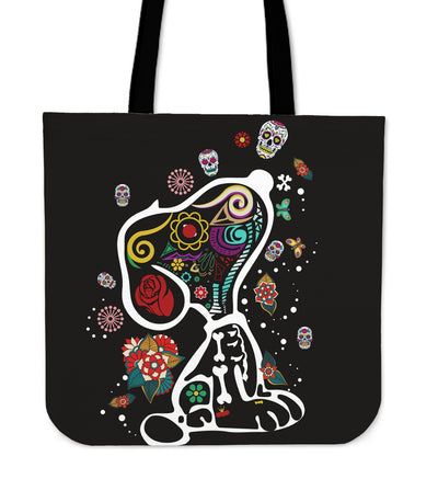 Colourful Snoopy Tote Bag
