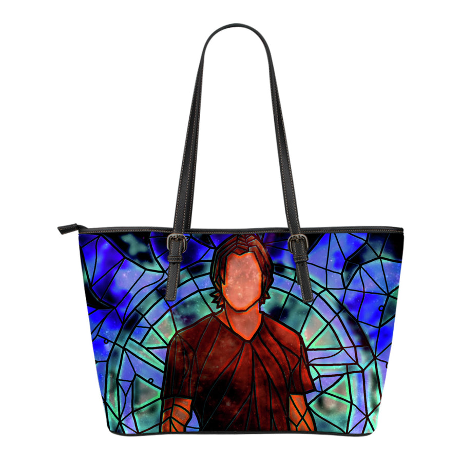 Sam Supernatural Stained Glass Tote Bag
