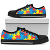 Autism Awareness V2 - Low Tops