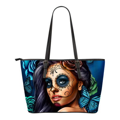 Calavera Tote Bag Blue