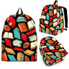 Book Lovers Pattern -  Backpack