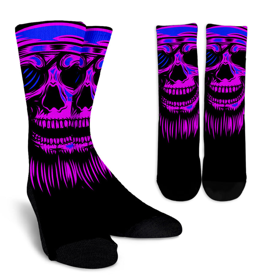 Purple Skull - Socks