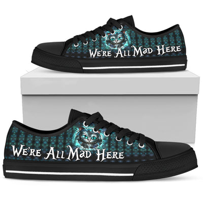 We're All Mad Here - Low Tops