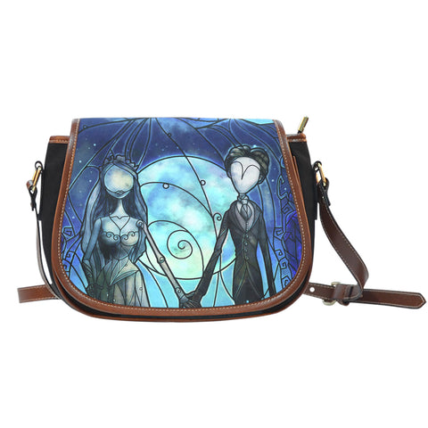 Bride Stained Glass Saddle Bag