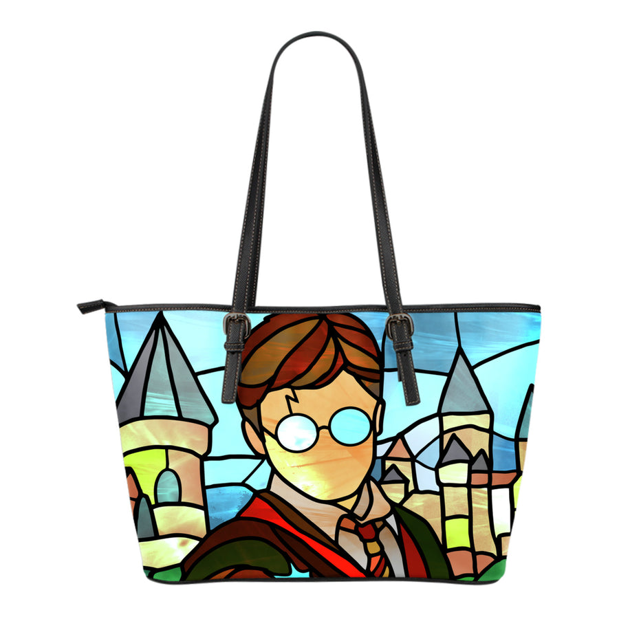 Harry Potter Stained Glass Tote Bag
