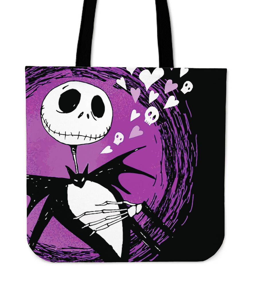 Jack Skellington Purple - Tote Bag