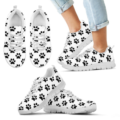 Dog Paw Sneakers - White