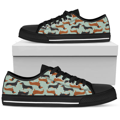 Dachshund Low Tops