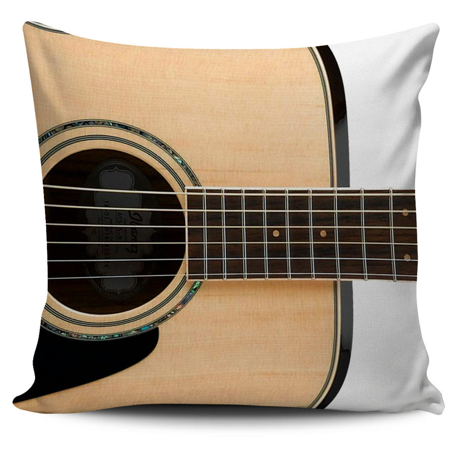 Folk Guitar Pillow Cover
