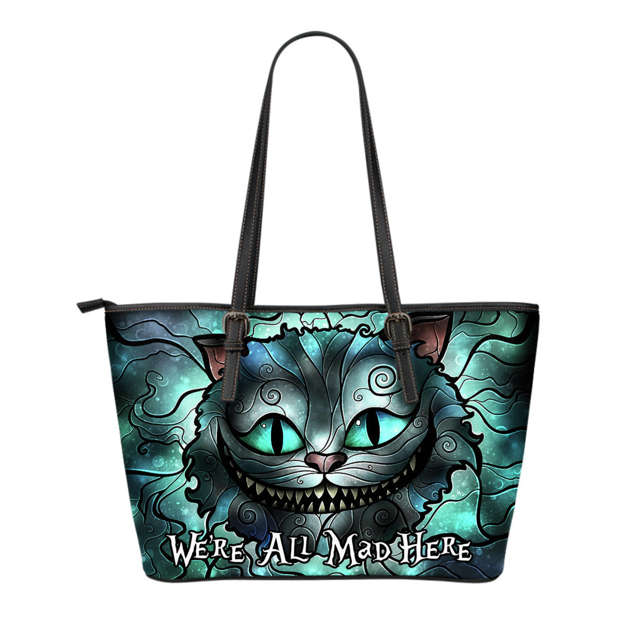 Were all mad here tote bag luvlavie