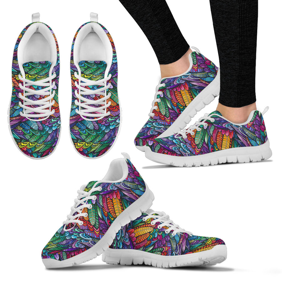 Boho Feathers - Sneakers