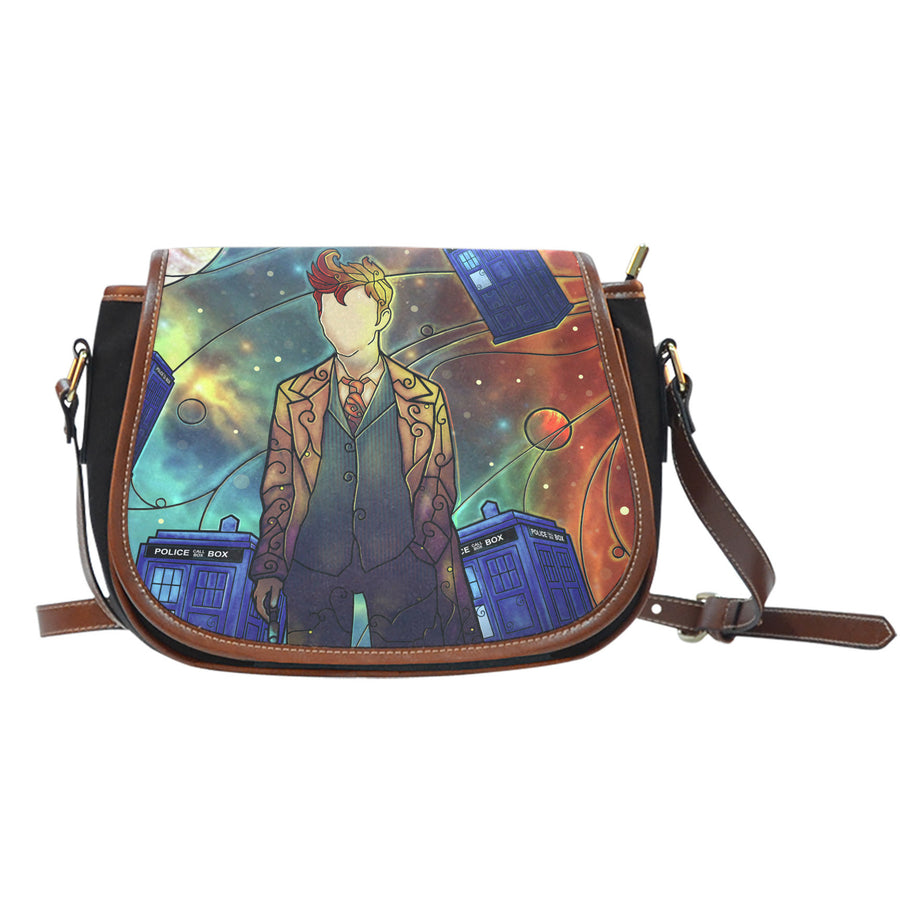 Dr Who Saddle Bag