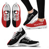 Black & Red Teacher Strong - Sneakers