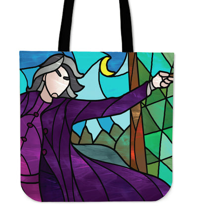 Professor Snape Stained Glass Tote Bag