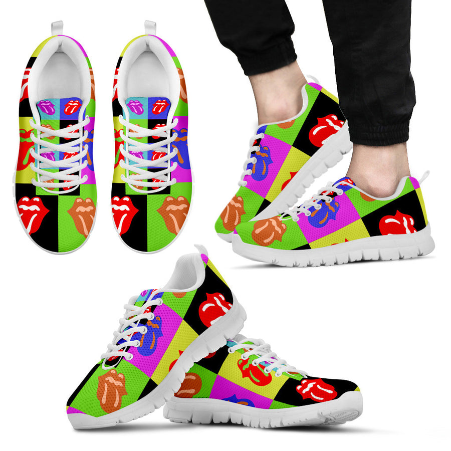 Rainbow Tongue Sneakers