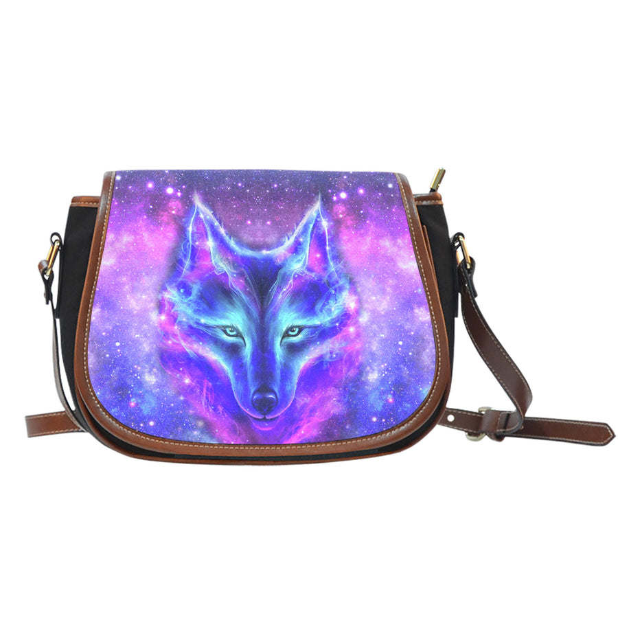 Galaxy Wolf - Saddle Bag