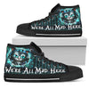We're All Mad Here High Tops
