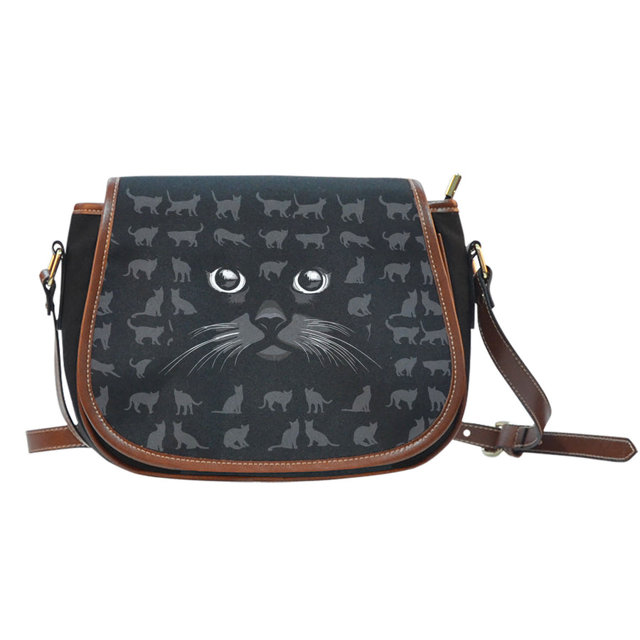 Black Cat - Saddle Bag