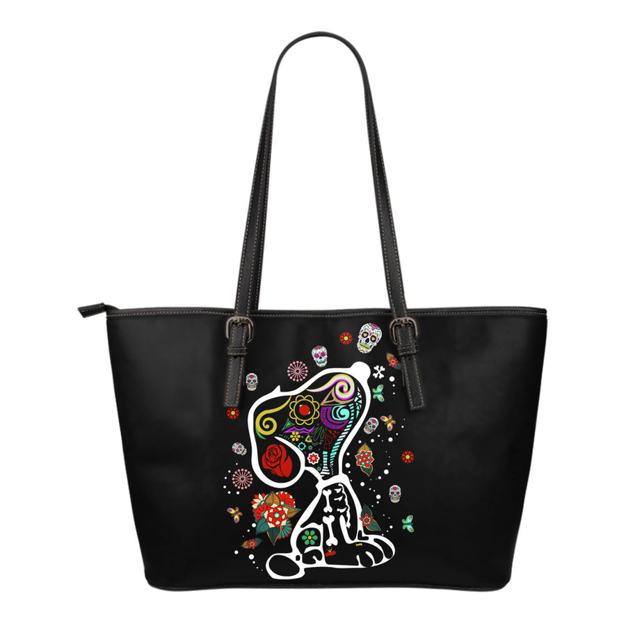 Colourful Snoopy Small Tote Bag