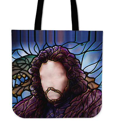 Jon Snow Stained Glass Tote Bag