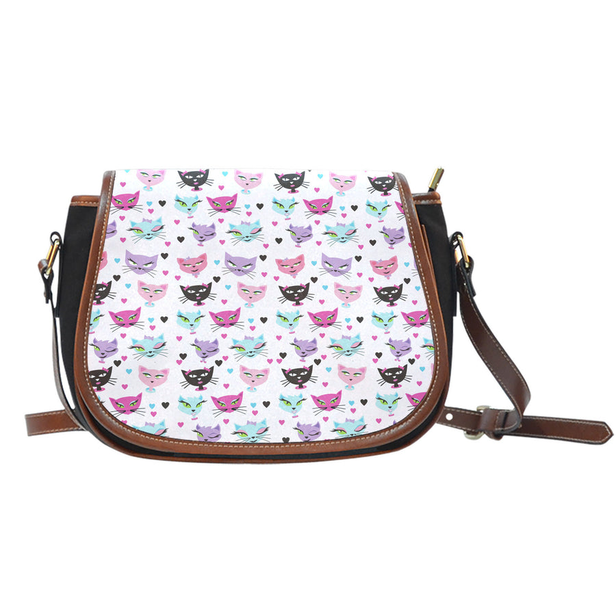 Kitty Cat - Saddle Bag