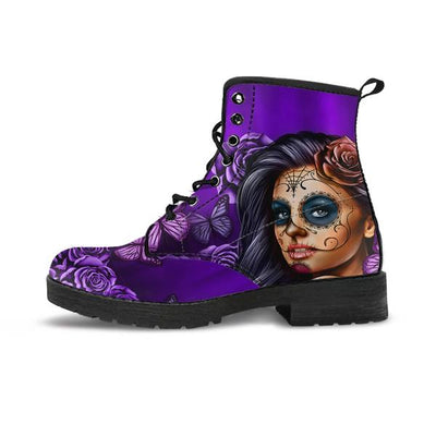 Calavera Purple - Boots