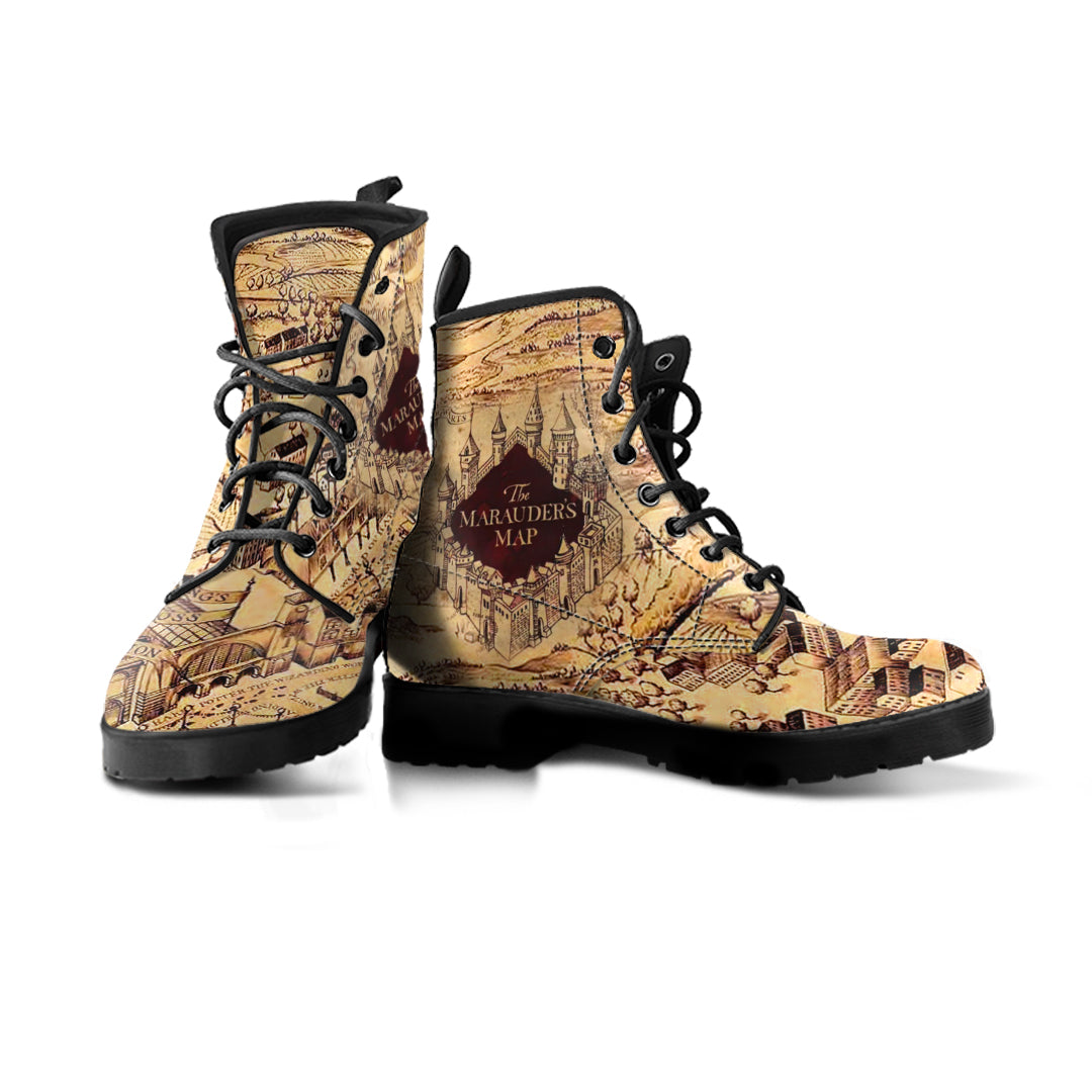 Marauders Map Shoes Marauder's Map   Boots   Luvlavie