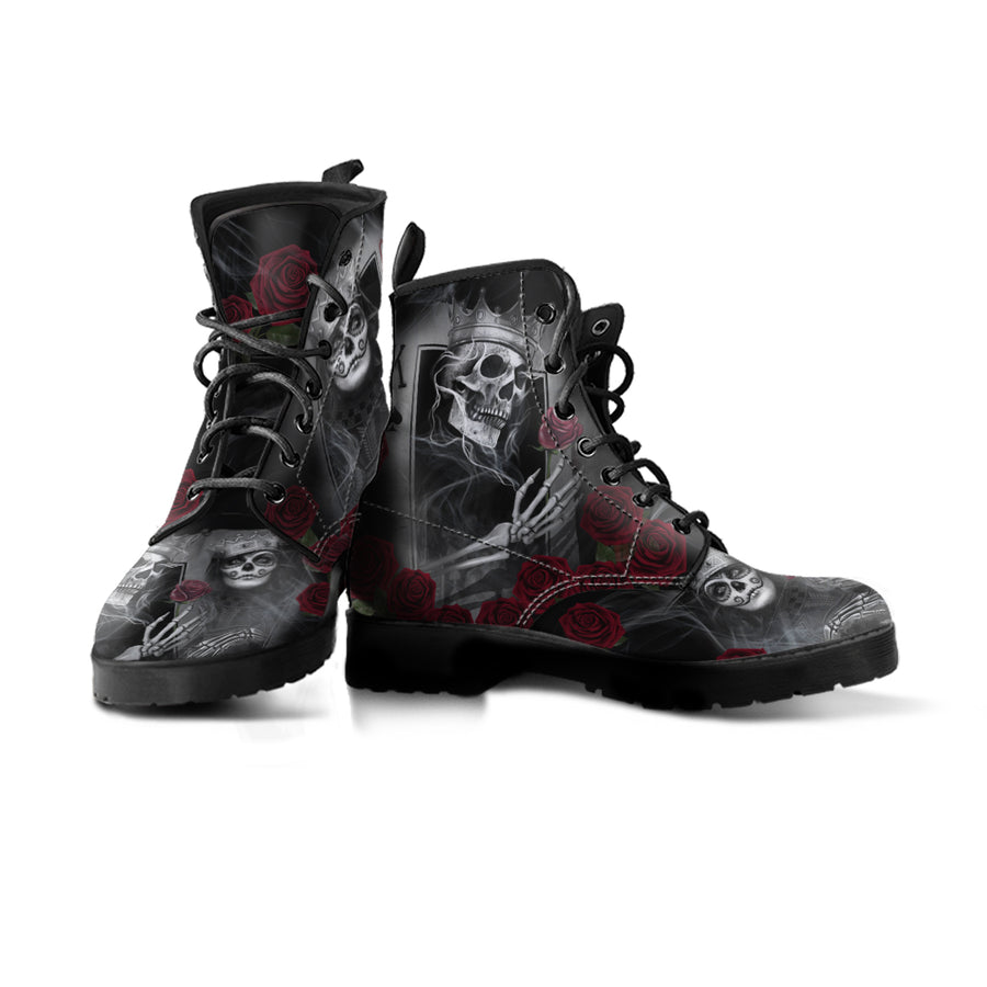 Skull Play Cards - Boots