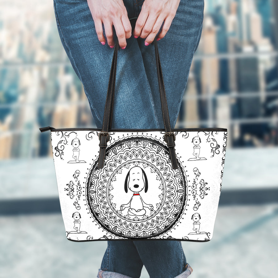 Yoga Snoopy - Tote Bag