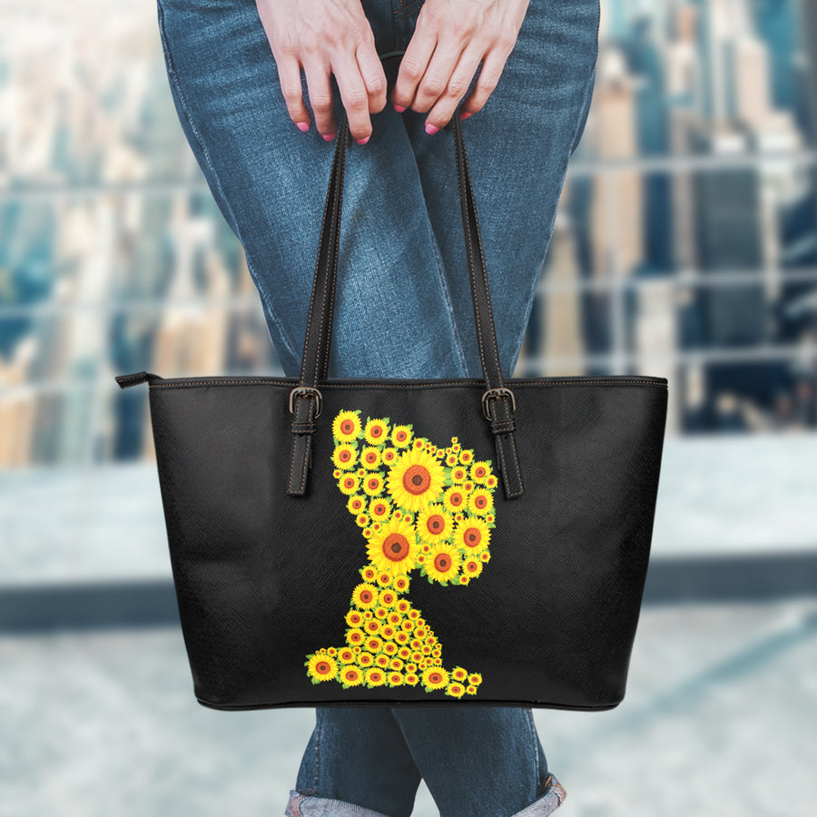 Sunflower Snoopy - Tote Bag