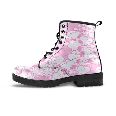 Pink Snoopy - Boots