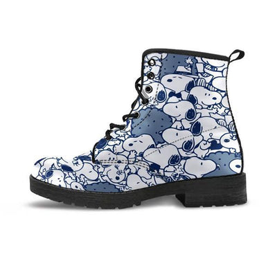 Navy - Snoopy - Boots