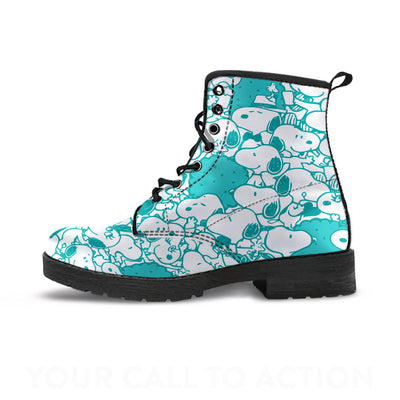 Blue Snoopy - Boots