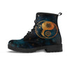 Yin Yang Sun and Moon Boots