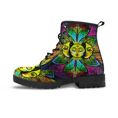 Sun and Moon Boots