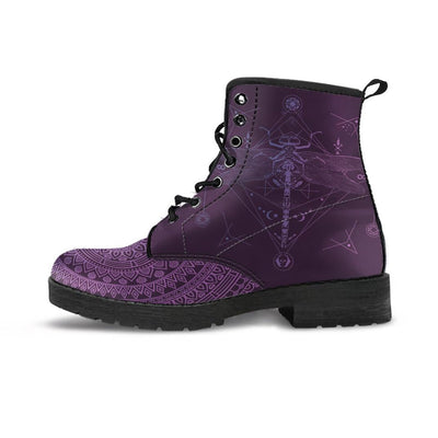 Spiritual Dragonfly Handcrafted Boots