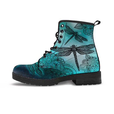Magic Dragonflies Green - Boots