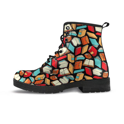 Book Lovers Pattern -  Boots