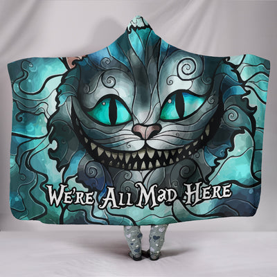 We're All Mad Here - Hooded Blanket