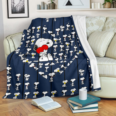 Snoopy Love - Premium Blanket