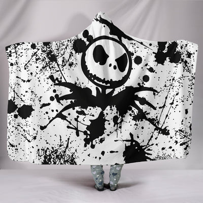 Jack Skellington - Hooded Blanket
