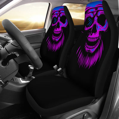 Purple Skull - Car Seat Covers (Set of 2)