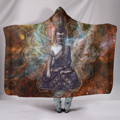 Buddha Hooded Blanket
