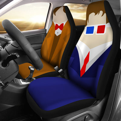 Dr Who - Car Seat Covers - (Set of 2)