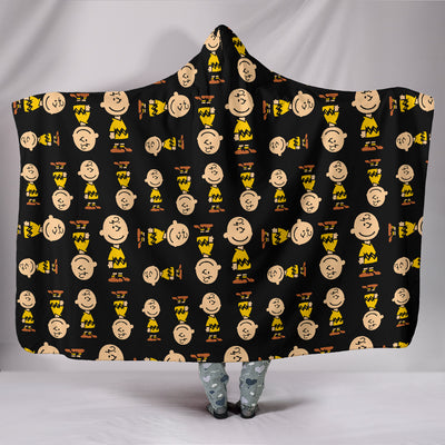 Charlie Brown - Hooded Blanket